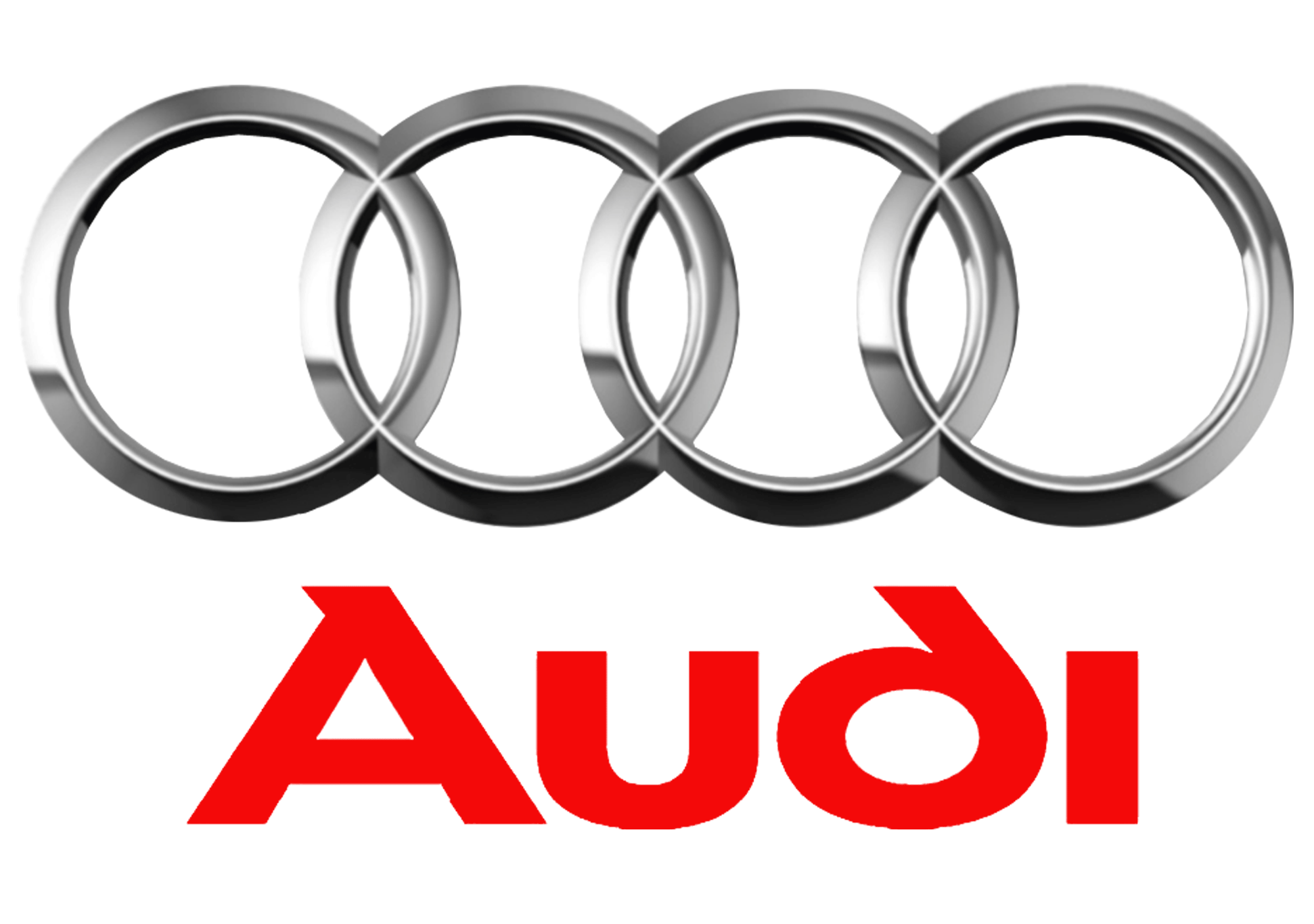 Audi Logo Large Colored
