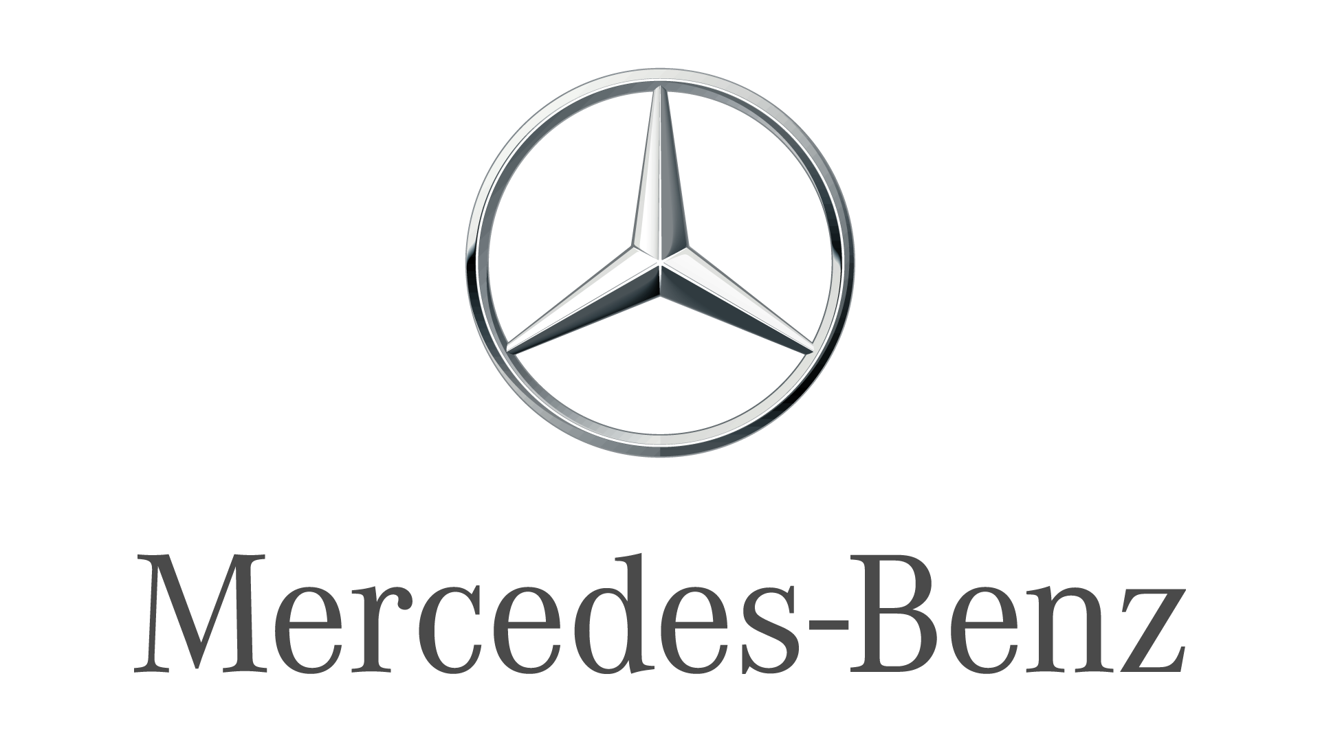 Mercedes-Benz Logo Large Colored